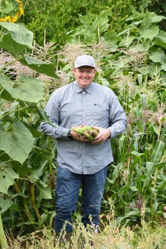 Photo in Corn Field